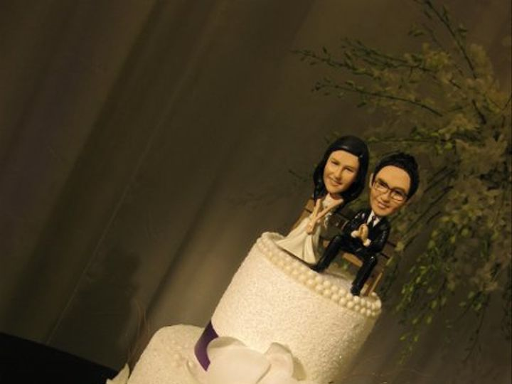 Tmx 1304909954800 THERESAANDDARLINGTONWEDDINGCAKE011 Azusa, California wedding cake