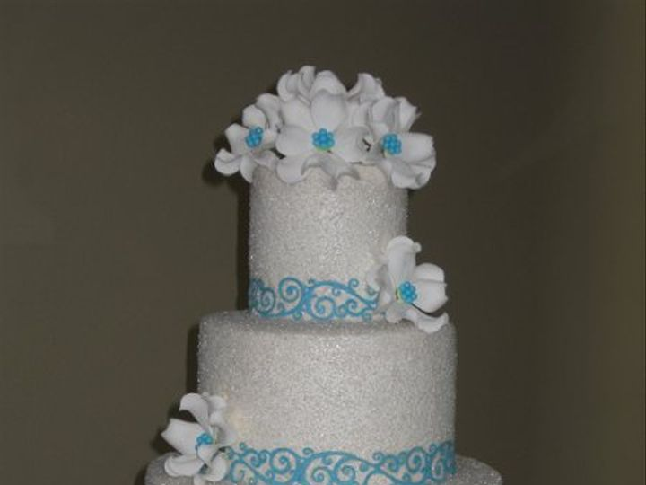Tmx 1306628207415 ChristinaandEricWeddingCake023 Azusa, California wedding cake
