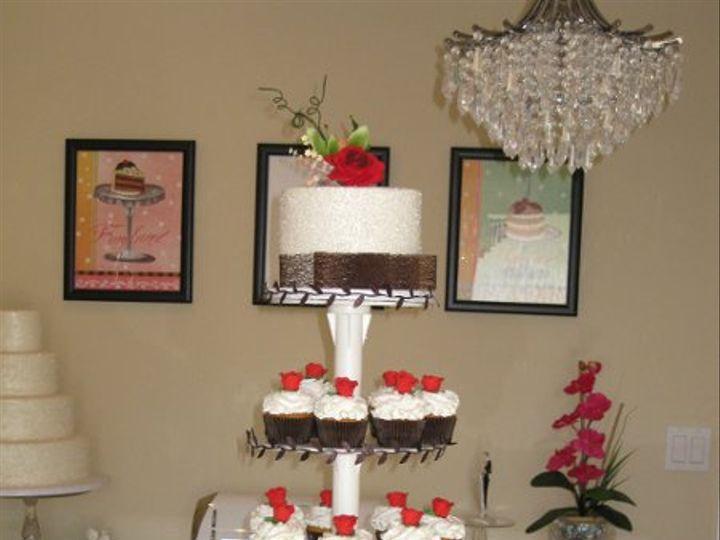 Tmx 1314432672698 Sallycupcaketower029 Azusa, California wedding cake