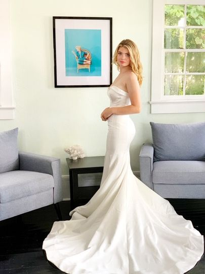Classic gown