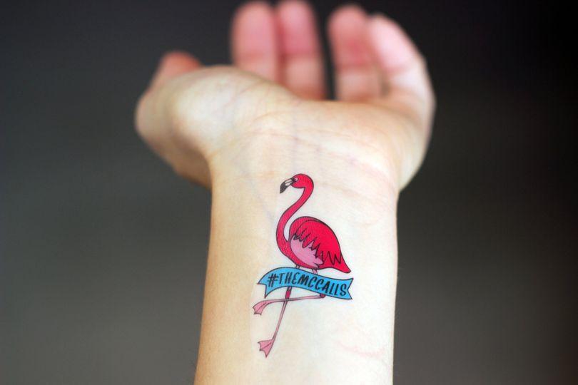 flamingo tattoo pic1