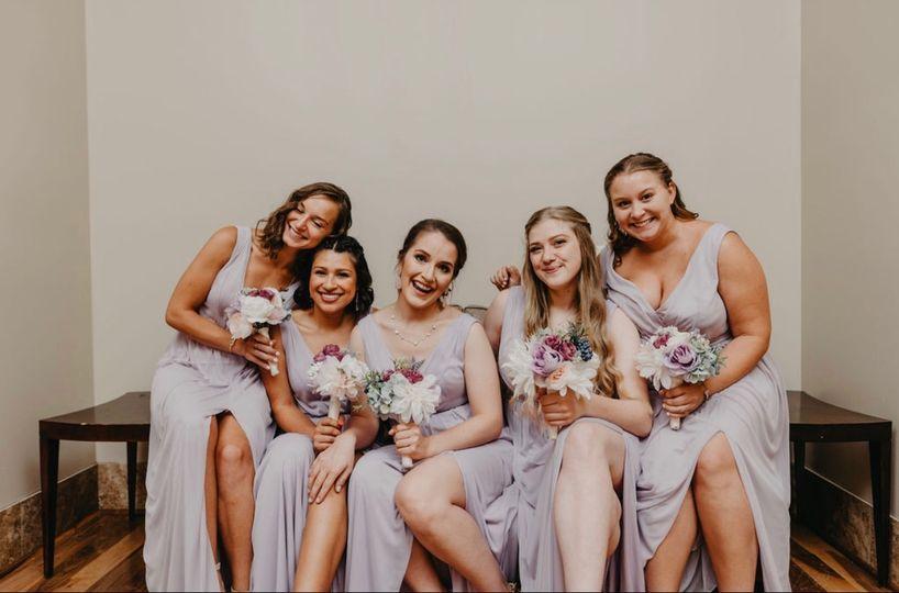 Client Bridal Party Hair +MU