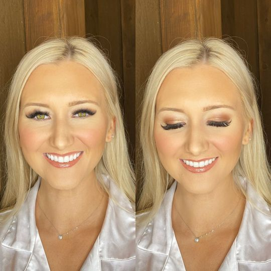 Bride Glam for Blushd Beauty