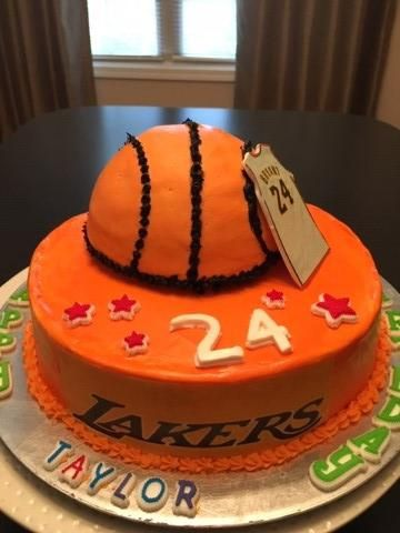 Lakers cakes