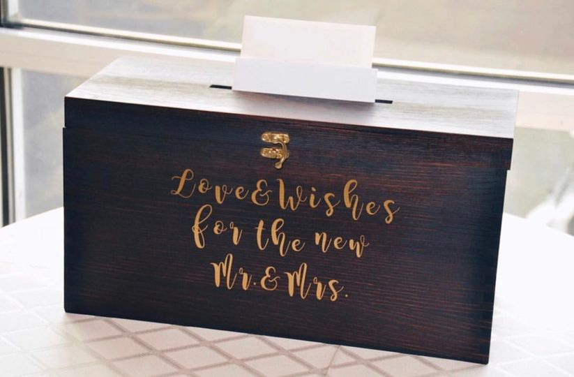 Custom decals for card box