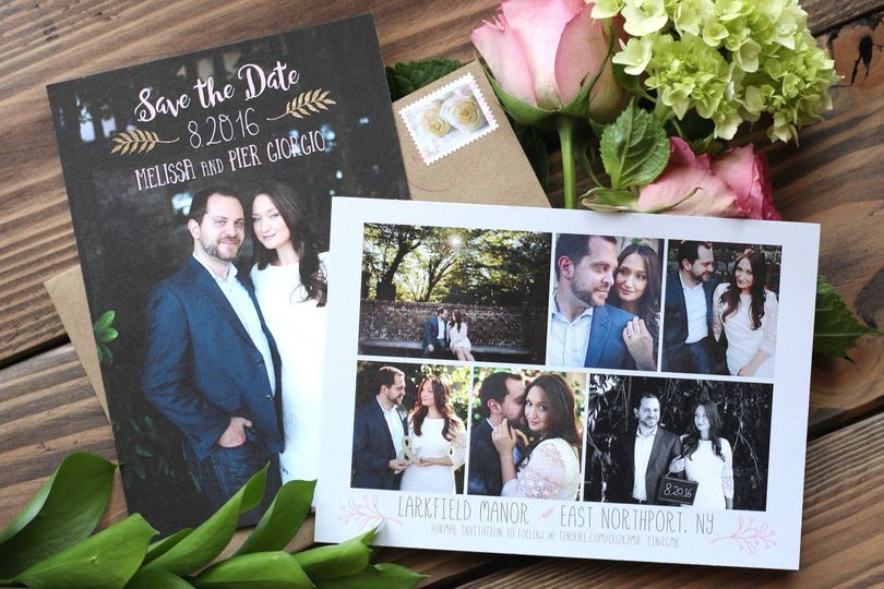 Pictures in invitations