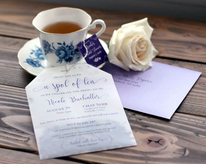 Tea and invites