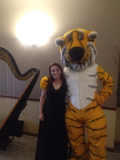 With Truman the Tiger!