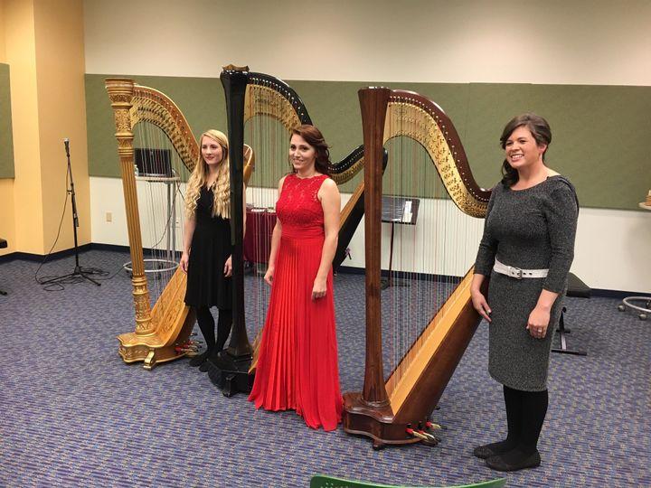 Columbia Harp trio