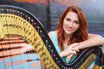 Maria Duhova Trevor - Harpist image
