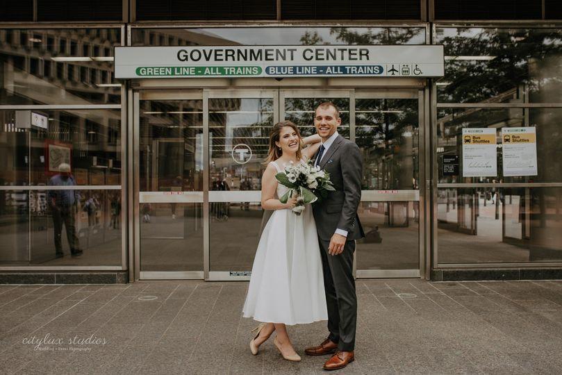 MBTA Wedding Photos