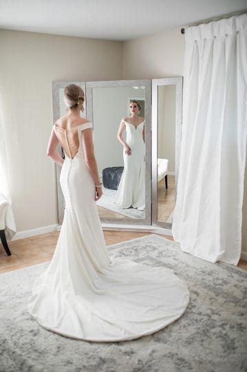 Modern Bridal Room