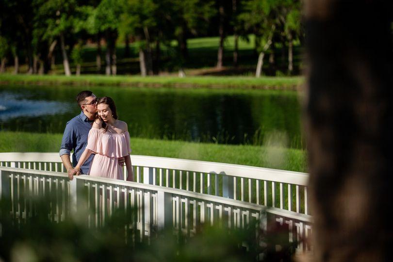 Engagement Pics bridge