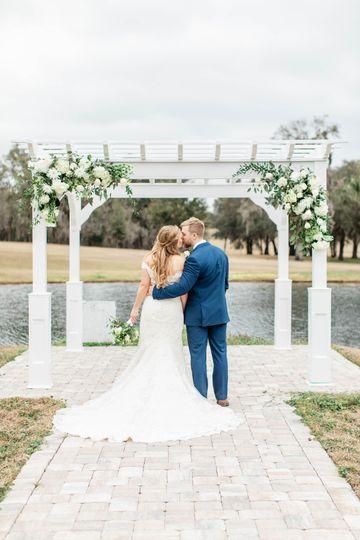 Bride and Groom Pergola