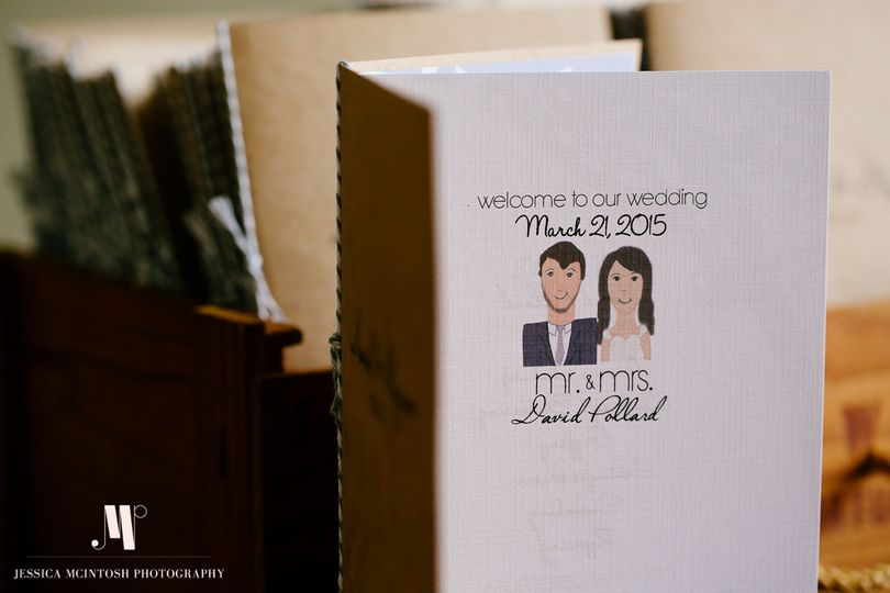 Custom made Wedding Programs