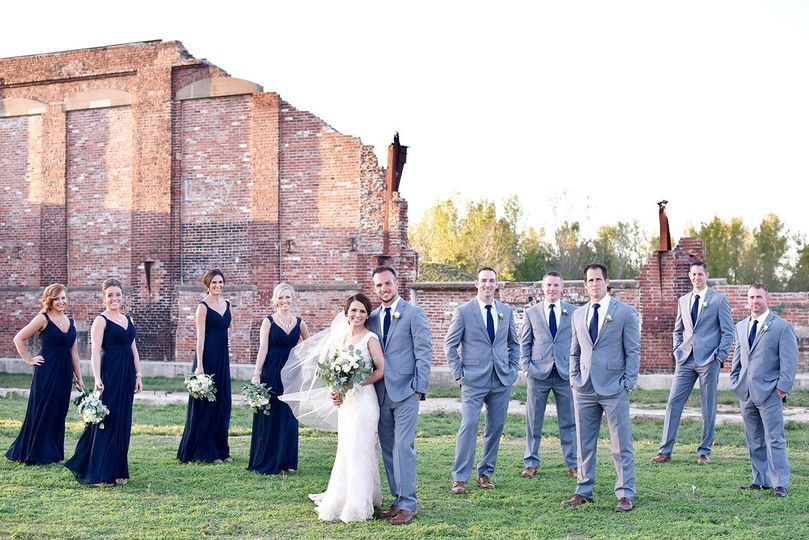 The wedding party - Exact Moments Photography