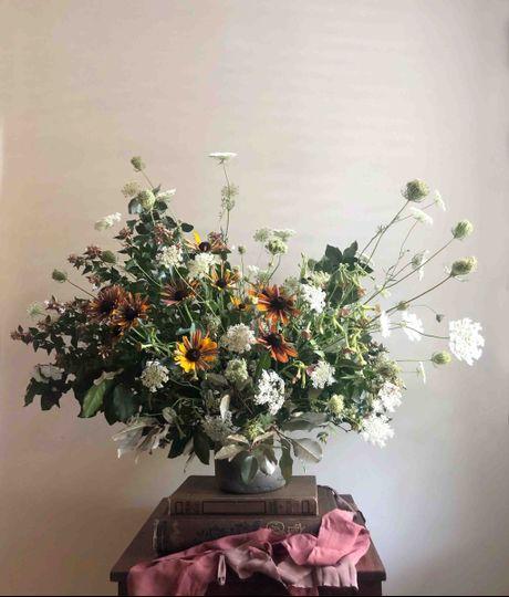Large organic arrangement