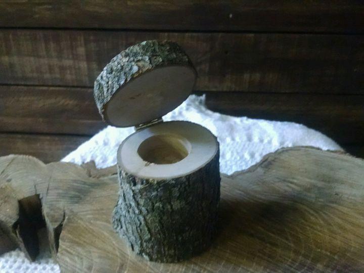 Ring bearer log.