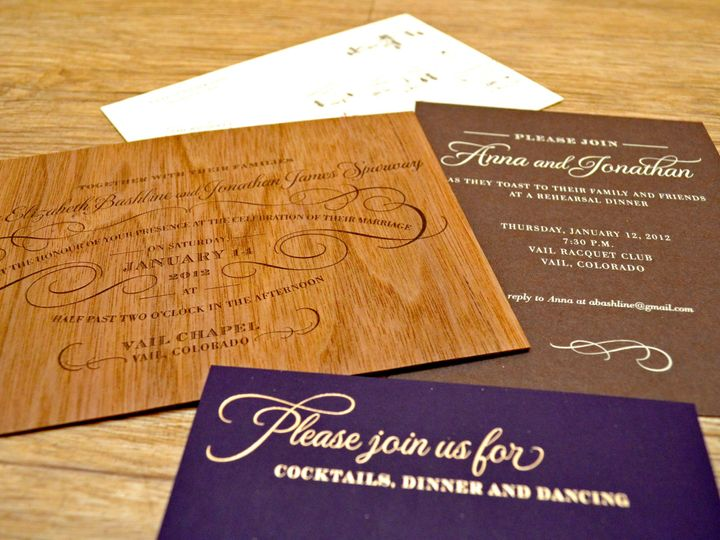 Tmx 1377635002372 Dsc0083 Denver, CO wedding invitation