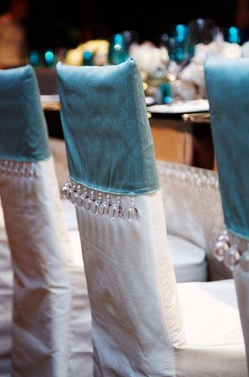 Exquisite custom chair covers