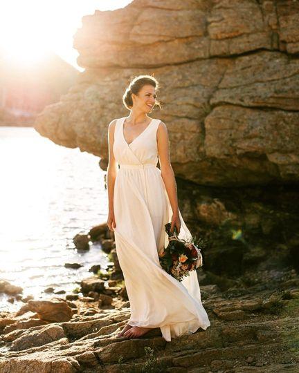 Mary's lake bridal session