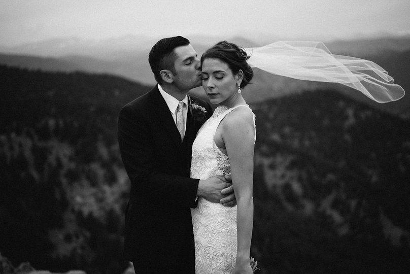 Boulder Colorado wedding. Lost gulch overlook