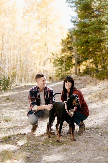 Fall Colorado Engagement