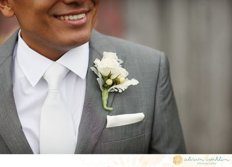 Sample boutonniere