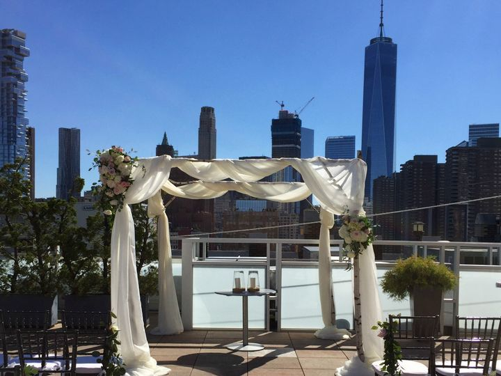 Tmx 1507137681969 Chuppah At Tribeca Rooftop Short Hills, New Jersey wedding florist
