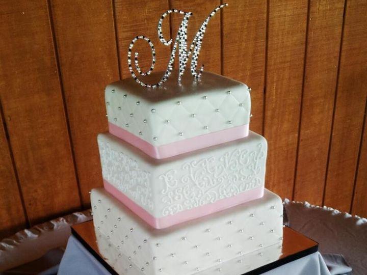 Tmx 1499988325734 Kt Wedding Bakersfield, CA wedding cake