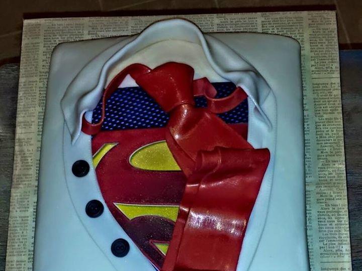 Tmx 1499988362458 Superman Bakersfield, CA wedding cake
