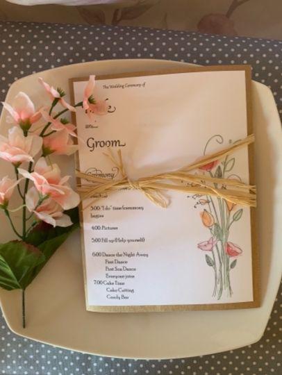 Floral Bouquet Program