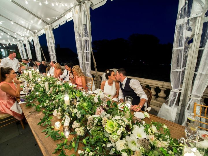 Tmx 1454360010778 R Bridal Party Head Table Glenside, PA wedding florist