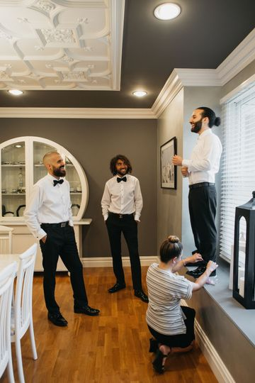 Getting the Groom Ready