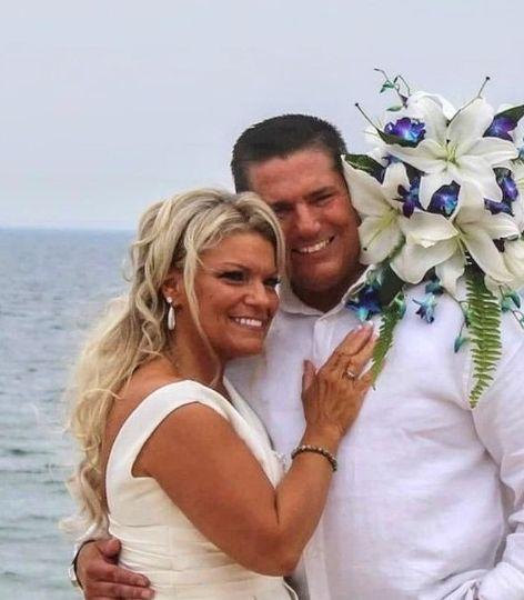 Another beach wedding