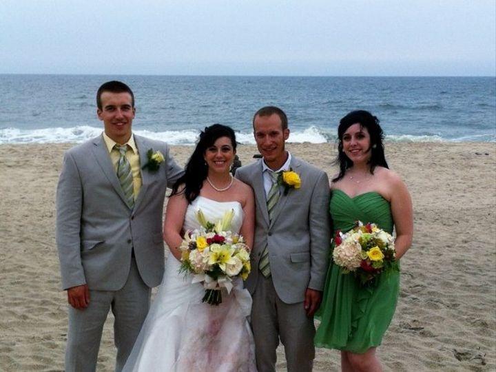 Tmx 1357216487226 Saraandnick23638x6402 Point Pleasant Beach, NJ wedding officiant