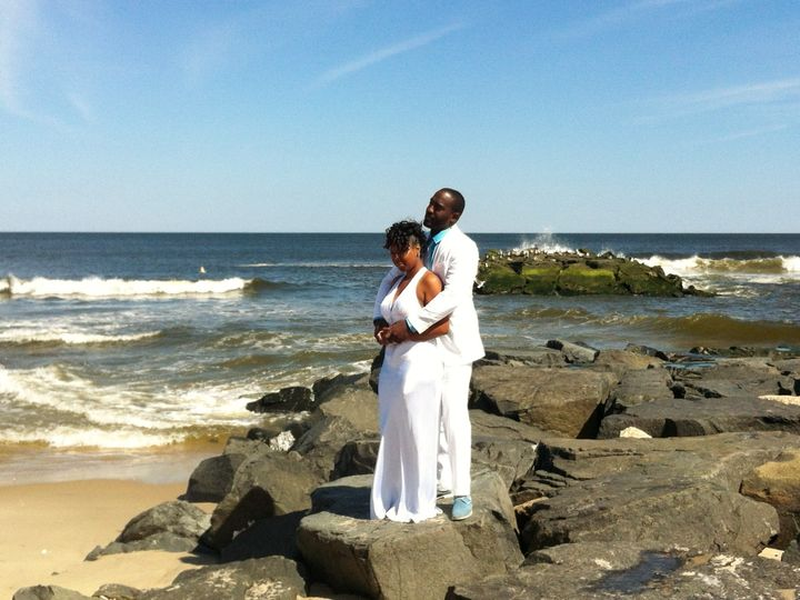 Tmx 1389750826777 Couple On Jetty At Spring Lake April 14 201 Point Pleasant Beach, NJ wedding officiant