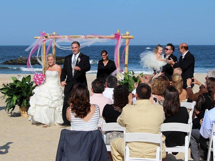 Tmx 1389750833467 Dana And Mike Belmar Beach 201 Point Pleasant Beach, NJ wedding officiant