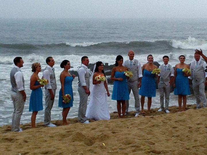 Tmx 1389750837672 Doolans Beach Wedding Sea Gir Point Pleasant Beach, NJ wedding officiant
