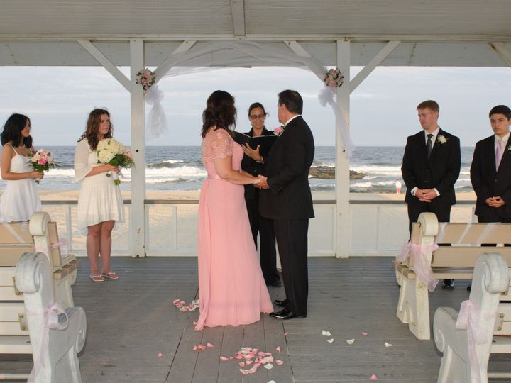 Tmx 1426288057123 Wedding At Spring Lake Beach Gazebo Point Pleasant Beach, NJ wedding officiant