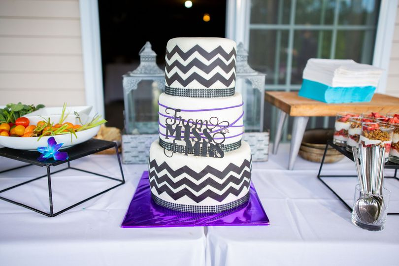 The cake has to coordinate!