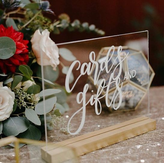 Acrylic Cards and Gifts