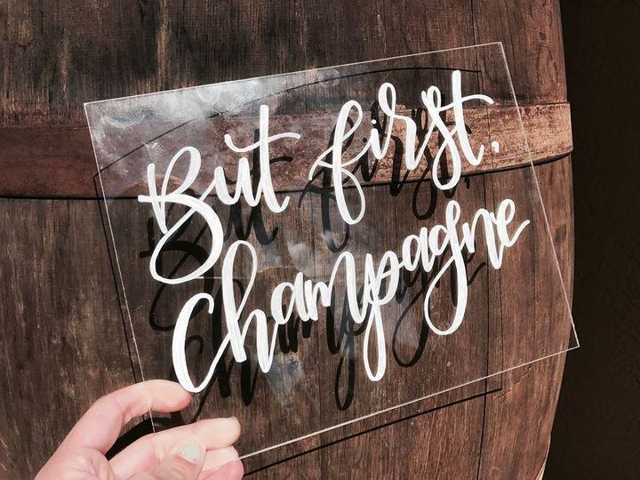 Tmx But First Champagne 51 1045991 Fort Lauderdale, FL wedding invitation