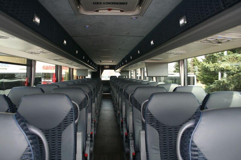 Motor coach decor