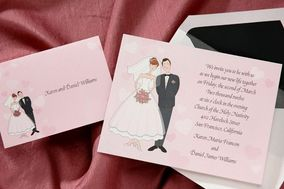 Wedding Invitations-The Office GaL