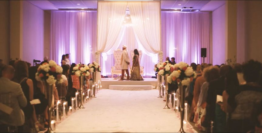 Quite The Ceremony For A Half Indian, Half Jamaican Wedding Day