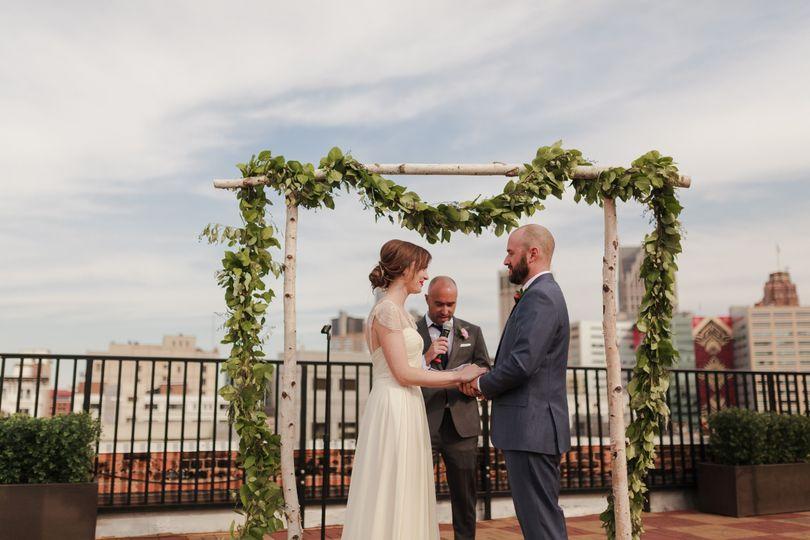 Skydeck Wedding