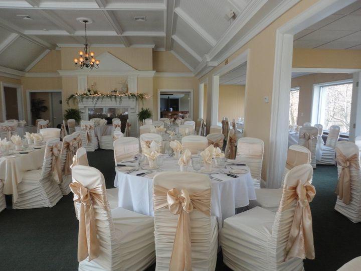Tmx 1364243920285 Ivoryrougechaircoverwchampagnesashes005 North Tonawanda wedding rental