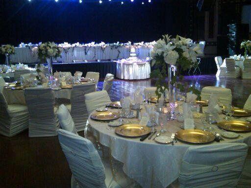 Tmx 1364244172781 Champagnecrystalorganzaoverlay North Tonawanda wedding rental