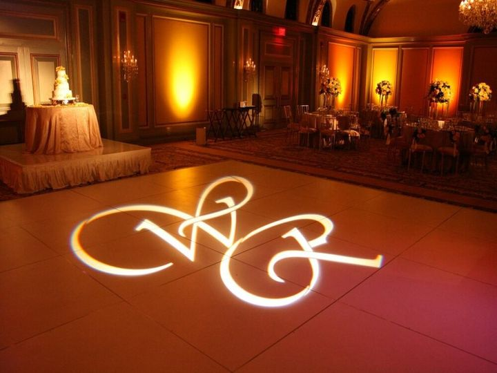 custom monogram gobo projector